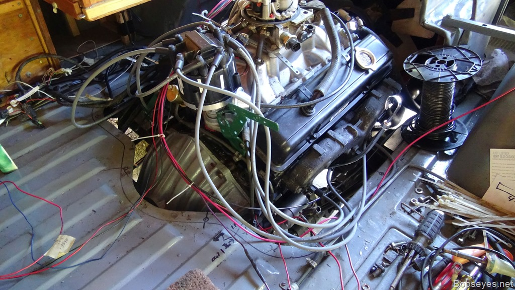 engine 2 1967 chevy van v8 350 engine conversion wiring bob's eyes 350 chevy engine wiring harness at bayanpartner.co
